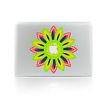 1 pieza Anti-Arañazos Flor De Plástico Transparente Adhesivo Fosforescente Diseño ParaMacBook Pro 15'' with Retina MacBook Pro 15 ''