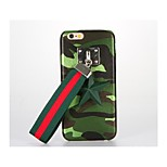For DIY Case Back Cover Case Camouflage Color Hard PU Leather for Apple iPhone 7 Plus iPhone 7 iPhone 6s Plus iPhone 6 Plus iPhone 6s