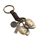 Key Chain Butterfly Key Chain Bronze Metal