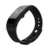 Waterproof v66 Heart Rate Monitoring Bracelet Bluetooth Touch-Screen Step Motion Meter Smart Bracelet