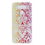 For LG G6 LS775 X Power Case Cover Diagonal Flower Painted Pattern TPU Material Phone Case