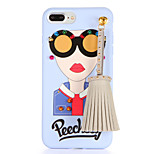 For DIY Case Back Cover Case Sexy Lady Soft TPU for Apple iPhone 7 Plus iPhone 7 iPhone 6s Plus iPhone 6 Plus iPhone 6s iPhone 6