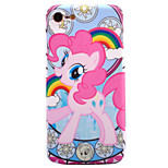 For Apple iPhone 7 7 Plus 6s 6 Plus Case Cover Cartoon Horse Pattern IMD Process Thicker TPU Material Fruit Color Soft Case Phone Case