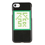 For DIY Block Building Case Word / Phrase Pattern Back Cover Case Hard PC for Apple iPhone 7 7 Plus 6s 6 Plus