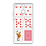 For Huawei P9 Pattern Case Back Cover Case Poker Pattern Soft TPU for  Huawei P10/P10 Plus P9 / P9 Lite / P8 / P8 Lite
