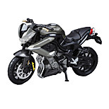 Motorcycle Toys Car Toys 1:18 ABS Black Model & Building Toy