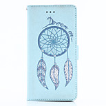 For Huawei P10 P9 Plus Case Cover Wind Chimes Pattern Embossed Flash Powder PU Material Phone Case P9 P8 (Lite) P9 P8 Mate 9 Mate 8 Honor 5X Honor 6X