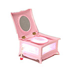 Music Box Music Classic & Timeless Silica Gel Pink