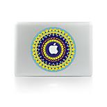 1 Stück Kratzfest Blume Transparenter Kunststoff Gehäuse Aufkleber Leuchtet im Dunkeln Muster FürMacBook Pro 15'' with Retina MacBook Pro