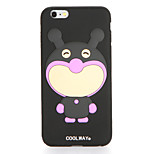 For Pattern Case Back Cover Case Cartoon Soft Silicone for Apple iPhone 7 Plus iPhone 7 iPhone 6s Plus iPhone 6 Plus iPhone 6s iPhone 6