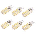4W G9 E26/E27 Bombillas LED de Mazorca T 80 SMD 5730 400 lm Blanco Cálido Blanco Fresco Regulable Decorativa AC 100-240 AC 110-130 V6