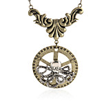 Vintage Animal Pendant Necklace Gear Charm Steampunk Necklace-Gear Octopus