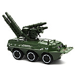 Military Vehicle Pull Back Vehicles Car Toys 1:24 Metal Green Camouflage White Model & Building Toy