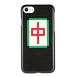 For Pattern DIY Case Back Cover Case Word / Phrase Hard PC for Apple iPhone 7 7 Plus 6s 6 Plus