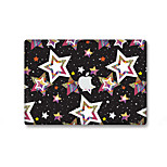 1 pezzo Anti-graffi Geometrica Di plastica trasparente Decalcomanie Fosforescente A fantasia PerMacBook Pro 15'' with Retina MacBook Pro
