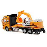 Construction Vehicle Toys Car Toys 1:160 Metal Plastic Orange Model & Building Toy