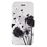 For Wiko Lenny3 Wiko Jerry Case Cover Dandelion Pattern Painted PU Material Card Holder Mobile Phone Holster Phone Case