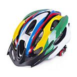 Универсальные Велоспорт шлем 18 Вентиляционные клапаны ВелоспортВелосипедный спорт Горные велосипеды Шоссейные велосипеды Велосипеды для
