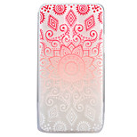For LG G6 X Power X Screen Case Cover Mandala Pattern Painted High Penetration TPU Material Soft Case Phone Case