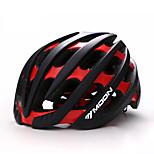 MOON® Жен. Муж. Универсальные Велоспорт шлем 36 Вентиляционные клапаны ВелоспортВелосипедный спорт Горные велосипеды Шоссейные велосипеды