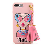 For Pattern DIY Case Back Cover Case Sexy Lady Soft TPU for Apple iPhone 7 Plus iPhone 7 iPhone 6s Plus iPhone 6 Plus iPhone 6s iPhone 6