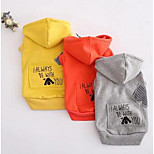 Dog Shirt / T-Shirt Dog Clothes Spring/Fall Cartoon Cute Casual/Daily