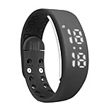 Smart Bracelet Time Display 3D Pedometer Temperature Sleep Monitor Waterproof Wristband For iPhone Samsung Android IOS Phone