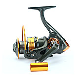 Fishing Reel Spinning Reels 5.2:1 12 Ball Bearings Right-handed General Fishing-GF3000
