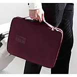 Travel Tote Portable Travel Storage for Portable Travel StorageDark Red
