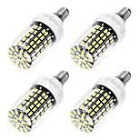 6W E14 LED a pannocchia T 108 SMD 5733 550 lm Luce fredda AC 220-240 V 4 pezzi