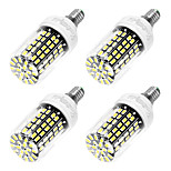6W E14 LED Mais-Birnen T 108 SMD 5733 550 lm Kühles Weiß AC 220-240 V 4 Stück
