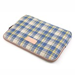 for Touch Bar Macbook Pro 13.3/15.4 Macbook Air 11.6/13.3 Macbook Pro 13.3/15.4 Grid Pattern Design Shockproof Laptop Sleeve Bag