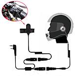 Motorrad voller Gesicht Helm Headset Ohrhörer für Zwei-Wege-Radio Walkie Talkie 365 Baofeng Kenwood Wanhua