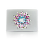 For MacBook Air 11 13/Pro13 15/Pro With Retina13 15/MacBook12 Purple Flower Decorative Skin Sticker Glow in The Dark
