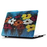 Capa para MacBook para Flor Pintura de Óleo PVC Material