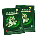 1Bag/8 Pcs White Tiger Balm Medicated Plasters Massage Tens Pain Patch Antistress Medical Plaster Ointment For Joints