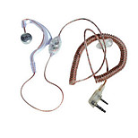 baofeng walkie-talkie curva trasparente cuffia auricolare spina k