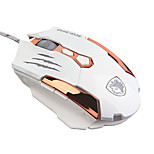 SADES Q6 LED 4 Color Gaming Game Mouse 3D Roller Home Office Optical Design Computer Laptop PC Mouse