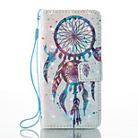 For Apple iPhone 7 Plus 7 Card Holder Wallet with Stand Flip Pattern Case Full Body Case Dream Catcher Hard PU Leather 6s Plus  6Plus 6s 6 5s 5