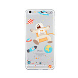 For Pattern Case Back Cover Case Cartoon Soft TPU for Apple iPhone 6s Plus iPhone 6 Plus iPhone 6s iPhone 6 iPhone SE/5s iPhone 5