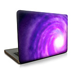 For MacBook Air 11 13/Pro13 15/Pro with Retina13 15/MacBook12 Purple Whirlpool Described Apple Laptop Case