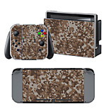B-Skin® Brown  Camouflage Cover Sticker For Nintendo Switch Novelty Portable