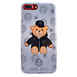 For Apple iPhone 7 7 Plus 6S 6 Plus Case Cover Toy Bear Pattern Thicker TPU Material IMD Process Soft Case Phone Case
