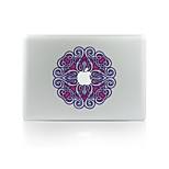 1 Pça. Resistente a Riscos Flor De Plástico Transparente Adesivo Brilha no Escuro Estampa ParaMacBook Pro 15'' with Retina MacBook Pro 15