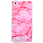 For  Huawei P8 P9 Lite Case Cover Marble Pattern TPU Material IMD Craft Phone Case