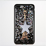 For DIY Case Back Cover Case Glitter Shine Soft TPU for Apple iPhone 7 Plus iPhone 7 iPhone 6s Plus iPhone 6 Plus iPhone 6s iPhone 6