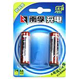Nanfu aa níquel metal hidruro batería recargable 1.2v 2400mah 2 pack