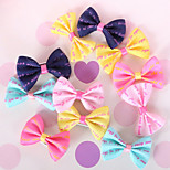 Cat Dog Hair Accessories Multicolor Dog Clothes Winter Summer Spring/Fall Princess Cute Casual/Daily Birthday Wedding