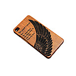 For Huawei P9 Mate 9 Shockproof Embossed Case Back Cover Case Feathers Hard Bamboo for Huawei P9 Plus P8