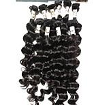 5Pcs/Lot Unprocessed Human Hair Weave Bundles Brazilian Virgin Deep Wave Curly Extensions Hair Free Tangle